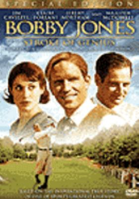 Cover image for Bobby Jones stroke of genius