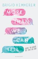 Cover image for More than we can tell