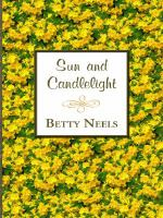 Cover image for Sun and candlelight