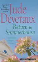 Imagen de portada para Return to summerhouse. bk. 2 [large print] : Summerhouse series