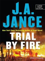 Cover image for Trial by fire. bk. 5 [large print] : Ali Reynolds series