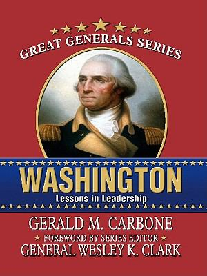 Cover image for Washington : lessons in leadership