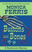 Cover image for Buttons and bones. bk. 14 Needlecraft mystery series
