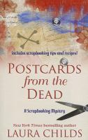 Cover image for Postcards from the dead. Book 10 Scrapbooking mystery series