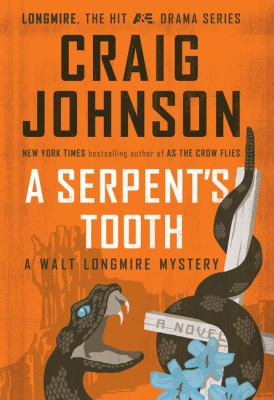 Cover image for A serpent's tooth. bk. 9 [large print] : Walt Longmire series