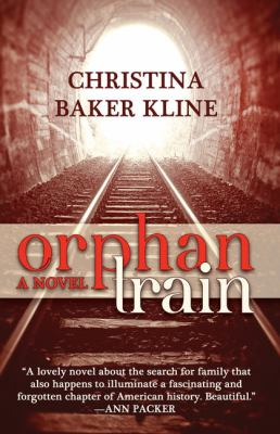 Cover image for Orphan train [large print]