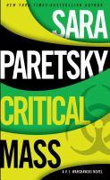Cover image for Critical mass. bk. 16 : V.I. Warshswski series