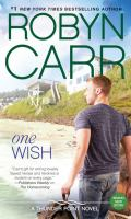 Cover image for One wish. bk. 7 [large print] : Thunder Point series