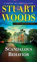 Cover image for Scandalous behavior. bk. 36 [large print] : Stone Barrington series
