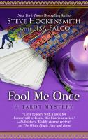 Cover image for Fool me once. bk. 2 [large print] : Tarot mystery series