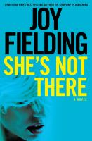 Cover image for She's not there [large print]