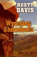 Cover image for Wyoming showdown [large print]