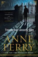 Cover image for Treachery at Lancaster Gate. bk. 31 [large print] : Thomas and Charlotte Pitt series