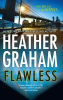 Cover image for Flawless [large print]