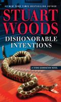 Cover image for Dishonorable intentions. bk. 38 [large print] : Stone Barrington series