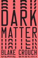 Cover image for Dark matter [large print]
