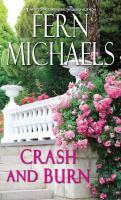Cover image for Crash and burn. bk. 27 [large print] : Sisterhood series