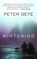 Cover image for Wintering [large print]