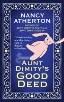 Cover image for Aunt Dimity's good deed. bk. 3 [large print] : Aunt Dimity series