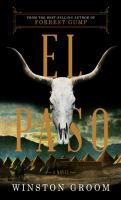 Cover image for El paso [large print]