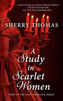 Cover image for A study in scarlet women. bk. 1 [large print] : Lady Sherlock series