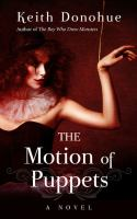 Cover image for The motion of puppets [large print]
