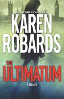 Cover image for The ultimatum [large print]