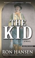 Cover image for The Kid [large print]