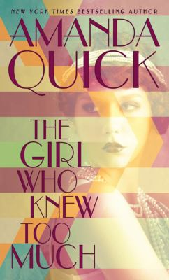 Cover image for The girl who knew too much [large print]
