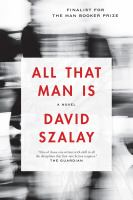 Cover image for All that man is [large print]