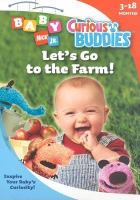 Cover image for Curious buddies. [videorecording (DVD)] Let's go to the farm!