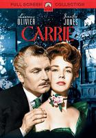 Cover image for Carrie (Jennifer Jones version)
