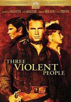 Imagen de portada para Three violent people