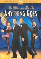 Cover image for Anything goes [videorecording DVD]