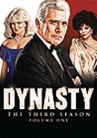 Cover image for Dynasty. Season 3, Vol. 1