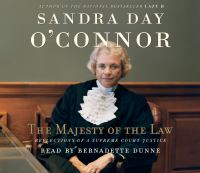 Cover image for The majesty of the law reflections of a Supreme Court Justice