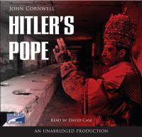 Imagen de portada para Hitler's pope [the secret history of Pius XII]