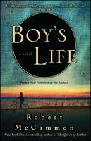 Cover image for Boy's life