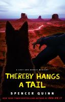Cover image for Thereby hangs a tail. bk. 2 : Chet and Bernie mystery series