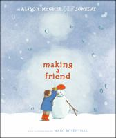 Cover image for Making a friend