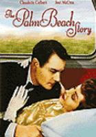 Cover image for The Palm Beach story [videorecording DVD]