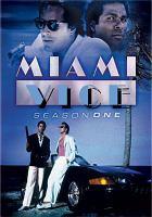 Cover image for Miami vice. Season 1, Complete