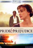 Cover image for Pride & prejudice (Keira Knightley version)