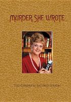 Cover image for Murder, she wrote. Season 2, Complete