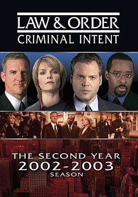 Cover image for Law & order: Criminal intent. Season 02, Complete