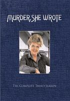 Cover image for Murder, she wrote. Season 3, Complete