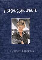 Imagen de portada para Murder, she wrote. Season 3, Complete