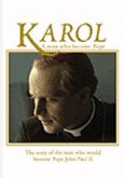 Cover image for Karol a man who became pope