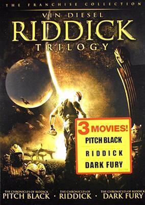 Cover image for Riddick trilogy
