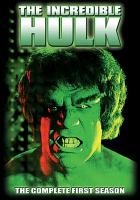 Cover image for The Incredible Hulk. Season 1, Complete [videorecording DVD]